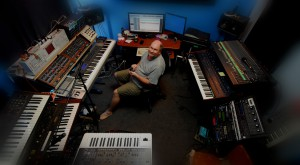 scott from canada in his studio